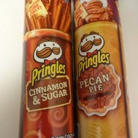Pringles Cinnamon & Sugar and Pecan Pie - Limited Edition
