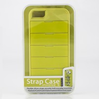 Triple C iPhone 5 Strap Case Green