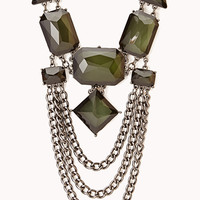 Edgy Bib Necklace