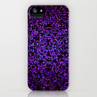 Glitter Graphic Background G99 iPhone & iPod Case by MedusArt