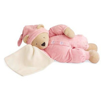 NWT North American Bear Company Sleepyhead Bear in Pink - 17 inches