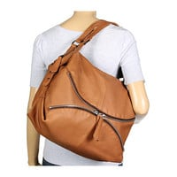 Linea Pelle Alex Zip Hobo