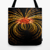 COSMIC SPIDER Tote Bag by catspaws
