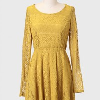 Three Cheers Lace Dress