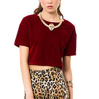 The Velvet Crop in Burgundy