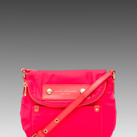 Marc by Marc Jacobs Preppy Nylon Mini Natasha in Diva Pink