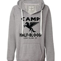 Large Oxford Womens Camp Half-Blood Deluxe Soft Hoodie