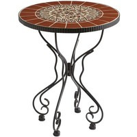 Rania Accent Table - Brown