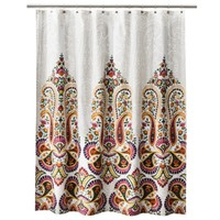 Mudhut™ Samovar Shower Curtain -Cream