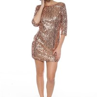 Toast Tonight Sequin Dress