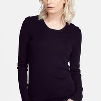 Burberry London Check Detail Merino Wool Sweater | Nordstrom