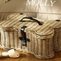 Doggie Toy Basket
