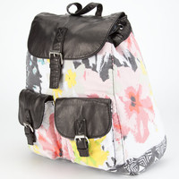T-SHIRT & JEANS Floral/Ethnic Backpack