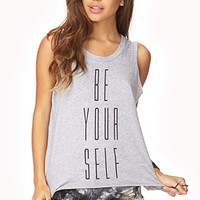 Stay True Muscle Tee
