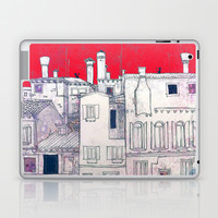 architectural sketch Laptop & iPad Skin by Marianna Tankelevich