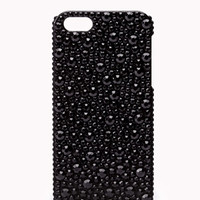Metallic Rhinestone Phone Case