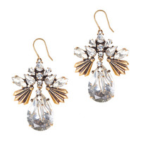FANNED DROPLETS EARRINGS