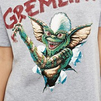 Gremlins Licensed Tee in Grey at Urban Outfitters
