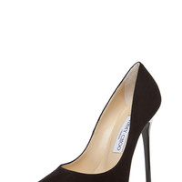 Anouk Suede Pump in Black