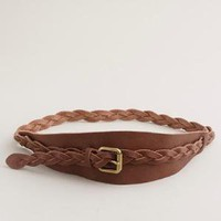 Women's new arrivals - accessories - Braided wrap belt - J.Crew