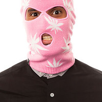 The Plantlife Ski Mask in Pink
