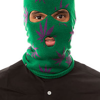 The Plantlife Ski Mask in Green