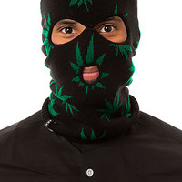 The Plantlife Ski Mask in Black