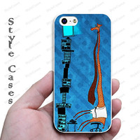 giraffe work iphone 5 case iphone 4 case Christmas gift idea iphone 5c case best iphone 4s case iphone 5s case designer iphone case 1087