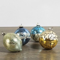 Vintage Glass Ornament Set - Urban Outfitters