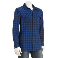 SONOMA life + style® Plaid Flannel Casual Button-Down Shirt - Men