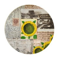 Sunflower Ancient Rome Italian Cutting Board