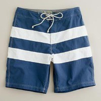 Men's new arrivals - swim - Social-stripe board short - J.Crew