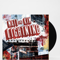 Matt & Kim - Lightning LP - Urban Outfitters