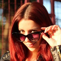 Fun And Sexy Vintage Cat Eye Sunglasses |