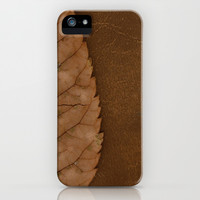 Dead Brown iPhone & iPod Case by RichCaspian