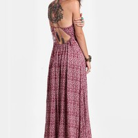 Destination Printed Maxi Dress