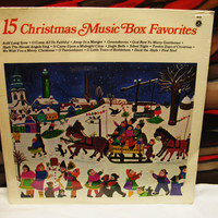 Amazing 15 Christmas Music Box Favorits Vinyl Record LP 33 Olimpic Records 1979 6152 SEALED