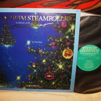 Amazing Mannheim Steamroller A Fresh Air Christmas By Chip Davis Vinyl Record LP 33 American Gramaphone Records 1988 NM