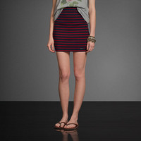 A&F High Rise Knit Skirt