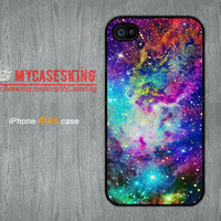Fox Nebula iPhone 4 case Fox iPhone 4 case Galaxy iPhone 4 case Nebula iPhone4s case iphone4 4s Hard/Rubber case-Choose Your Favourite Color