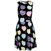 No Sweetheart Skater Dress from Kill Star