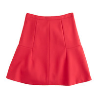 J.Crew Womens Fluted Skirt In Double Crepe