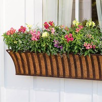 English Haybasket Planters - Plow & Hearth