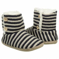 Accessories Steve Madden Women's Sunshine Navy Stripe FamousFootwear.com