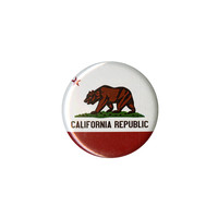 California Flag Pin