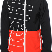 Neff Daily Black & Red 10K Technical Softshell Snowboard Jacket