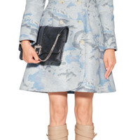 Kenzo - Wool-Silk Blend Cloud Print Coat