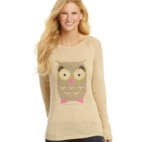 Jolt Owl Critter Hi-Low Sweater | Dillards.com
