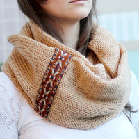 By(knitscarf).Knit-ScarfWithTribalLace,Inf...