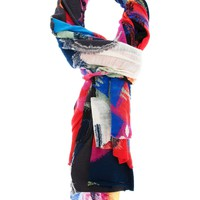 QUOTATION BY FANTASISTA UTAMARO 3D pinted scarf